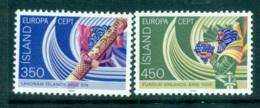 Iceland 1982 Europa, History MUH Lot65834 - 1944-... Republic