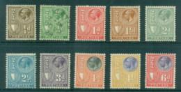 Malta 1926-27 KGV To 6d MLH/FU - Malta