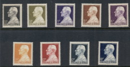 Monaco 1946-49 Louis II Asst MUH - Monaco