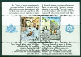 San Marino 1989 Europa MS FDI CTO Lot17671 - Unused Stamps