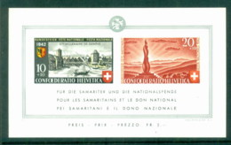 Switzerland 1942 National Fete Day MS MUH - Used Stamps