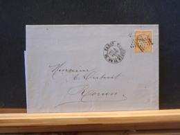82/830   LETTRE   PARIS   ETOILE NR. 3 PLACE DE  LA MADELAINE   TIMBRE NR. 36 - 1849-1876: Classic Period