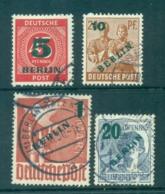 Germany Berlin 1949 Green BERLIN Opts FU Lot70373 - Unclassified