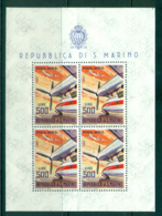 San Marino 1963 500l Rolls Royce Dart MS MUH Lot40272 - San Marino