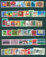 Switzerland 1980's Swiss Regions Through Stamps, Ex PO Pk MUH Lot59049 - Unused Stamps