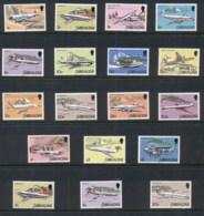 Gibraltar 1982 Pictorials, Airplanes + Dates MUH - Gibraltar