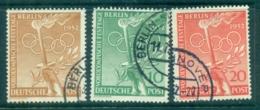 Germany Berlin 1952 Pre-Olympic Festival Day FU Lot70450 - Unclassified