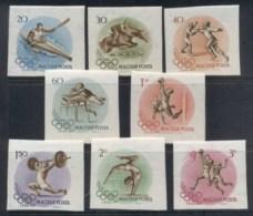 Hungary 1956 Summer Olympics IMPERF MUH - Hungary