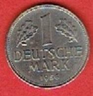 GERMANY  #  1 MARK  FROM 1956 - [ 7] 1949-… : FRG - Fed. Rep. Germany