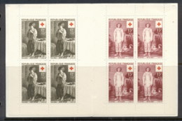 France 1956 Welfare, Red Cross Booklet MUH - France