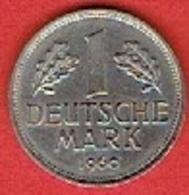 GERMANY  #  1 MARK  FROM 1960 - [ 7] 1949-… : FRG - Fed. Rep. Germany