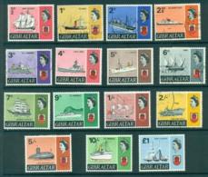 Gibraltar 1967 Ships Defins FU/MH Lot20658 - Gibraltar