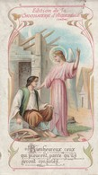 Image Religieuses : Image Pieuse : Bienheureux Ceux Qui Pleurent , ( Chocolaterie D' Aiguebelle - Drome ) - Andachtsbilder