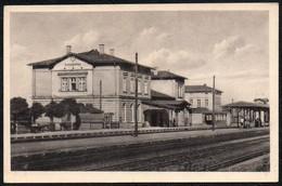 C2798 - Großbothen Grimma - Bahnhof Gaststätte - Verlag Konrad W. Lukowski Leipzig - Bahnhöfe Ohne Züge
