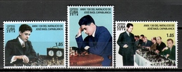 Cuba 2018 / Chess Capablanca MNH Ajedrez Schach Échecs / Cu11517  C3 - Ajedrez