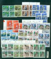 Switzerland 1980s'on Assorted CTO Blocks Lot59109 - Unused Stamps