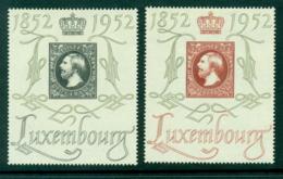 Luxembourg 1952 Grand Duke William III Stamp Centenary MLH Lot27492 - Luxembourg
