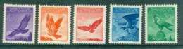 Liechtenstein 1934-35 Birds, Eagle MLH - Unused Stamps