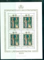 Liechtenstein 1979 Patron St. Lucius MS MUH Lot58299 - Liechtenstein