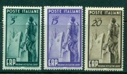 Italy 1949 European Recovery MLH Lot15496 - Italy