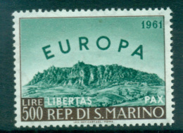 San Marino 1961 Europa, Birds Of Birds MUH Lot65331 - San Marino