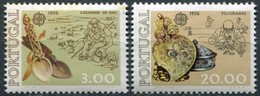 Portugal CEPT 1976 Yvertn° 1291-1292 *** MNH Cote 50,00 Euro Europa - 1910-... République