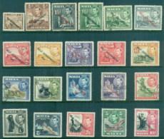 Malta 1948-53 KGVI Pictorials Opt. Self-Government 1947(small Faults) MLH/FU - Malta