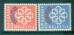 Switzerland 1959 Europa, Global Links, Opt PTT MUH Lot65296 - Switzerland