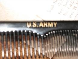 1 Peigne US ARMY Provient D'une Boite Du 28 July 1944 Ww2 - 1939-45