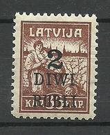 LETTLAND Latvia 1920 Michel 59 * - Lettonie