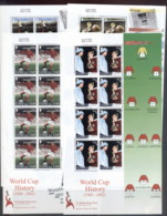 Gibraltar 2002 World Cup Soccer History 4xMS MS MUH - Gibraltar