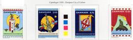 PIA - DANIMARCA  - 1996 : Copenhagen Città Europea Della Cultura  -   (Yv 1119-22) - Danimarca