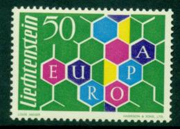 Liechtenstein 1960 Europa MUH Lot15777 - Liechtenstein