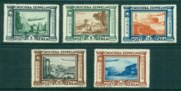 Italy 1933 Zeppelin (15l Lt Gum Tones) MLh Lot34797 - Italy