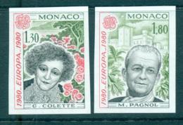 Monaco 1980 Europa, Celebrities IMPERF MUH Lot65767 - Monaco