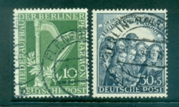 Germany Berlin 1950 Berlin Philharmonic Orchestra FU Lot70417 - Unclassified