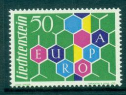 Liechtenstein 1960 Europa, Spoked Wheel MUH Lot65306 - Liechtenstein