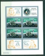Romania 1971 Apollo 15 Moon Landing IMPERF MS MUH Lot57415 - 1948-.... Republics
