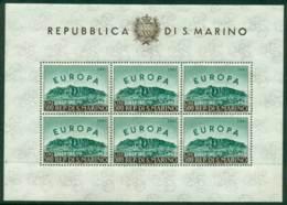 San Marino 1961 Europa MS MUH Lot17438 - San Marino