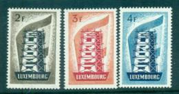 Luxembourg 1956 Europa, Scaffold MUH Lot65271 - Luxembourg
