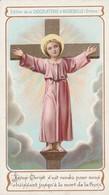 Image Religieuses : Image Pieuse : Jésus Christ S'est Rendu Pour Nous ...... ( Chocolaterie D' Aiguebelle - Drome ) - Santini