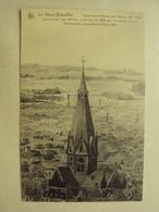 30477 - LE VIEUX BRUXELLES - EGLISE SAINT ANTOINE DE PADOUE - AQUARELLE - ZIE 2 FOTO'S - Monuments, édifices