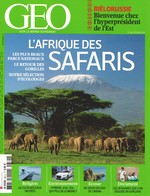 GEO N° 384 - Février 2011 - BIELORUSSIE - AFRIQUE - SAFARIS - ECOSSE - AFGHANISTAN - Géographie