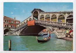 Venice, VENEZIA, Ponte Di Rialto, Rialto Bridge, Used Postcard [22842] - Venezia (Venice)