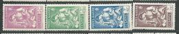 ALGERIE   N°  205/208  ** TB  3 - Algérie (1924-1962)
