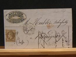 82/837  LETTRE   DE PARIS   ETOILE NR.23   RUE D'ALIGRE  POUR LA SUISSE - Postmark Collection (Covers)