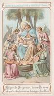 Image Religieuses : Image Pieuse : Anges Du Seigneur...... ( Chocolaterie D' Aiguebelle - Drome ) - Santini