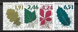 France 1994 Préoblitérés N° 232/235 Neufs Feuilles D'arbre à 20% De La Cote - Préoblitérés
