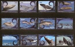 Aitutaki 2012 Yvertn° 643-654 *** MNH Cote 60 Euro Faune Baleines Et Dauphins Walvissen Dolfijnen - Aitutaki