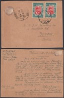 IRAN TEHERAN 10/09/1933 SUR CARTON VERS BOMBAY INDE  (DD) DC-2130 - Iran